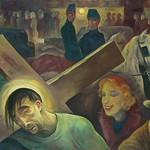 Carrying the Cross  (Friedrichstrasse) 1924 Albert Birkle