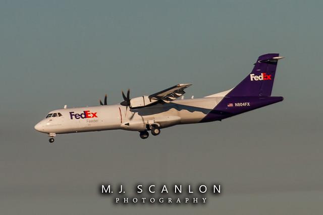 N804FX FedEx Feeder | ATR 72-212(F) | Memphis International Airport