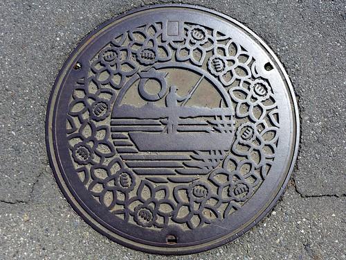 sakai Gunma, manhole cover (群馬県境町のマンホール2)