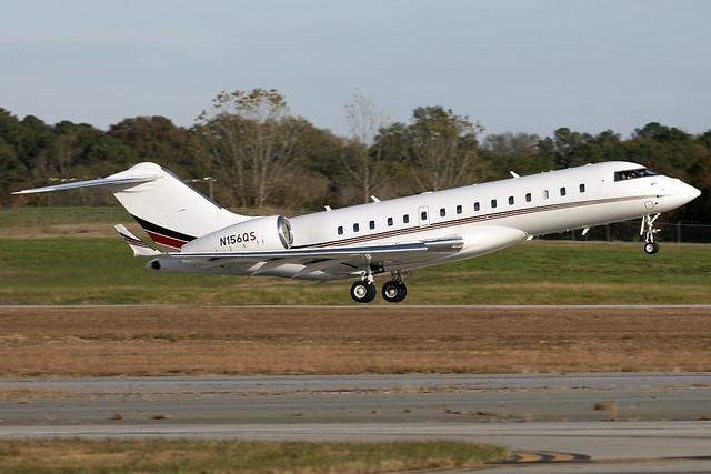N156QS - Bombardier Global 6000 - Netjets - KPDK - Nov 2020