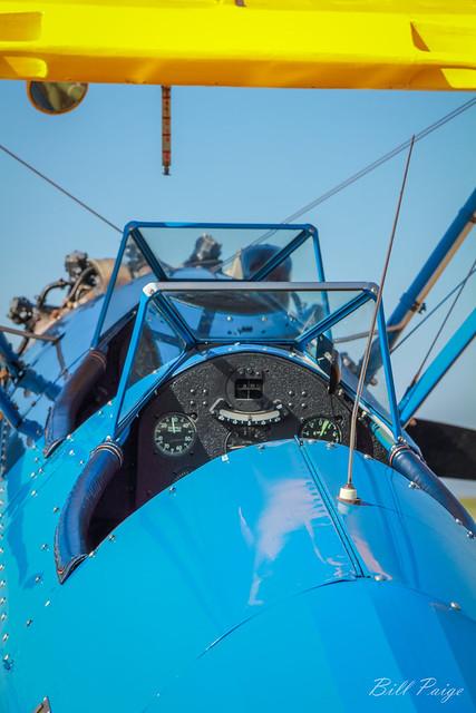 Blue on Blue Bi-plane (EXP)