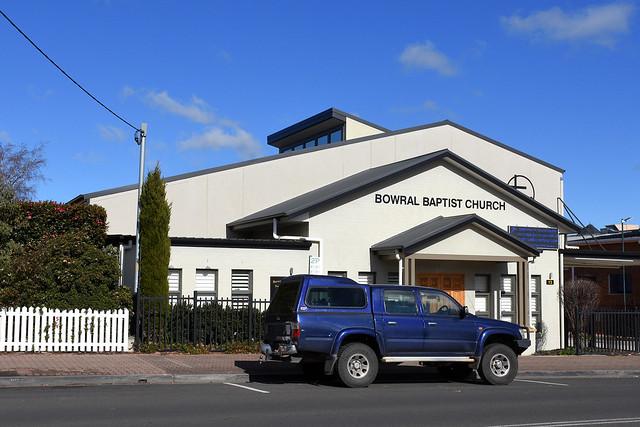 Baptist Church, Bowral, NSW.