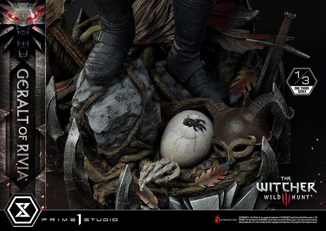 世界需要獵魔專家!Prime 1 Studio《巫師3:狂獵》利維亞的傑洛特 1/3比例雕像