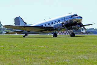 N8704   (44-76716) Douglas DC-3TC-47B-30-DK [T6300/33048] (Ex United States Army Air Forces / Yankee Air Museum) Oshkosh-Wittman Regional~N 30/07/2008