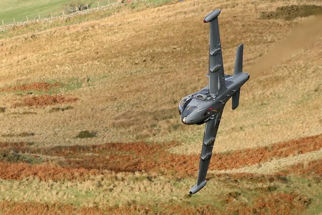 BAC Strikemaster at the Mach Loop 25/11/2020