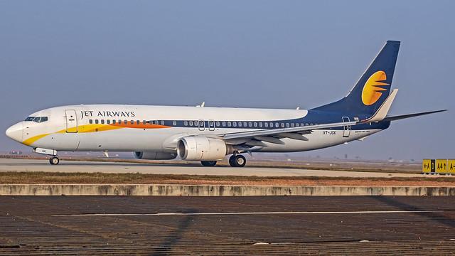 Jet Airways Boeing B737-800 VT-JGK Bangalore (BLR/VOBL)