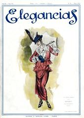Cover of Elegancias, March 1914.