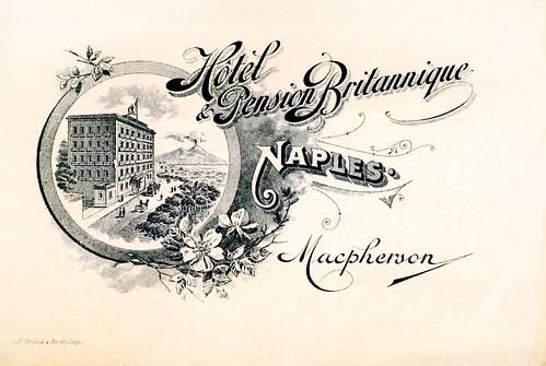 Hotel & Pension Britannique, Naples, Macpherson