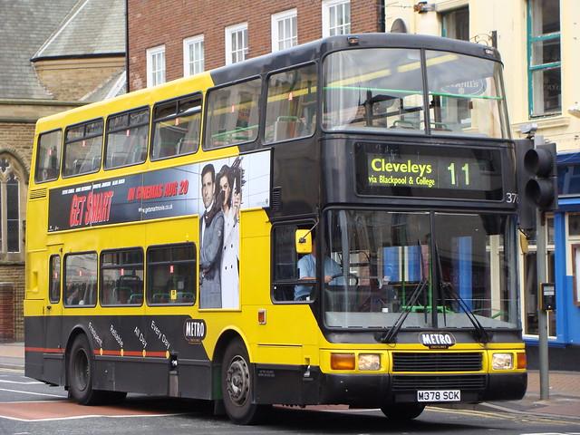 Blackpool Transport 378 M378SCK