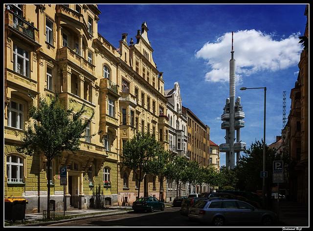 Praha - Prague_Krkonošská ulice_Praha 2 - Vinohrady_Czechia