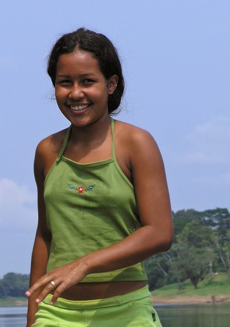 Pretty Girl by Rio Juma Inlet, Brazil 2004
