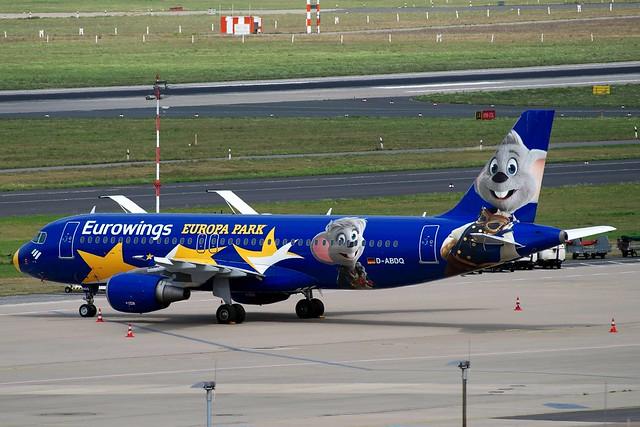 A320 D-ABDQ EW Europapark