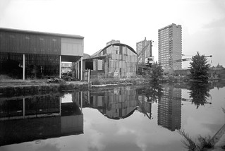 Hertford Union Canal, Old Ford, Tower Hamlets, 1983t 36n-22_2400