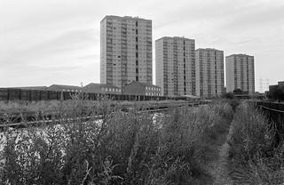 Clapton Park Estate, Clapton Park, Hackney, 1982 32k-53p_2400