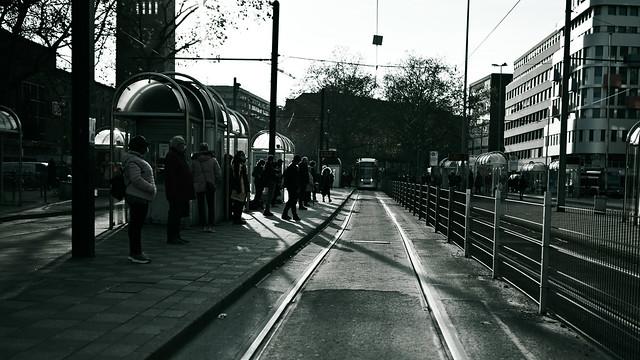 bleached central station @ Düsseldorf, Germany 2