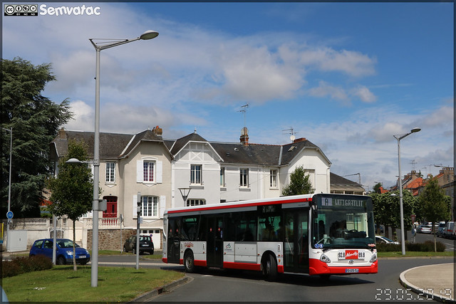 Heuliez Bus GX 337 – TPC (Transports Publics du Choletais) / CholetBus n°54