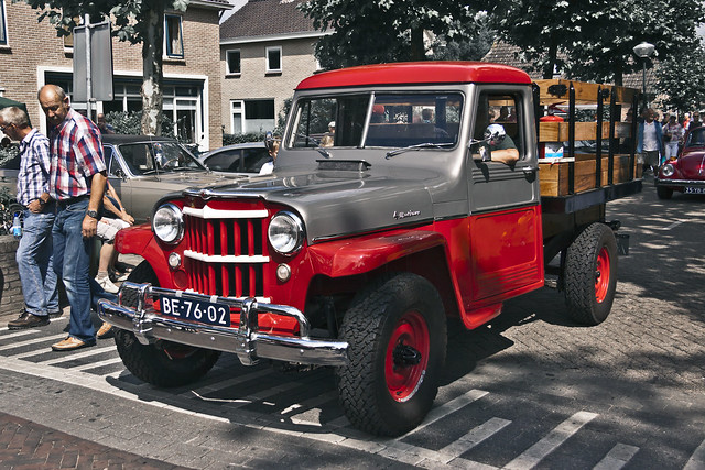 Willys-Overland 473 Pick-Up Truck 1956 (1418)