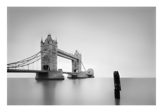 Alone in the mist | Tower Bridge, London