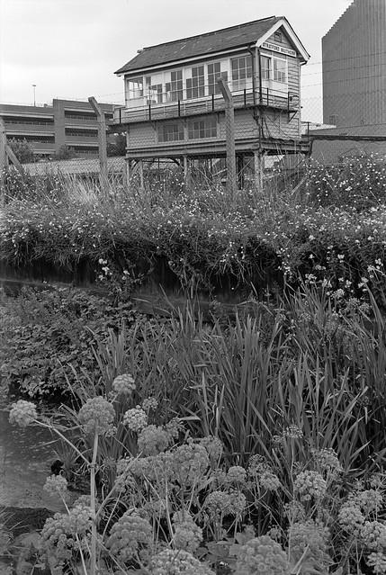 Signal Box, Stratford Station, Stratford, Newham, 1983 35p-65_2400