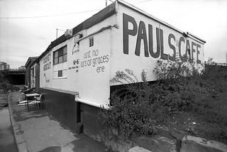 Pauls Cafe, Stratford Marsh, Stratford, Newham, 1990 90-9h63_2400