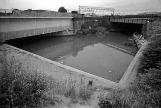 City Mill River, Railway, Stratford Marsh, Newham, 1983 36m-43