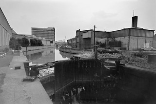 City Mill Lock, St Thomas's Creek, Stratford Marsh, Newham, 1983 36m-22a-positive-2_2400