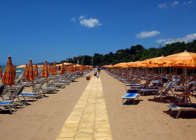 Sycylia - plaża