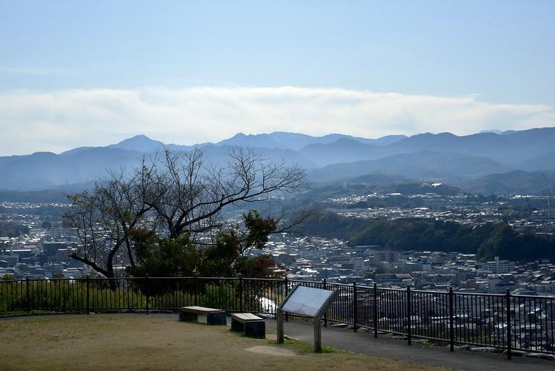 金沢卯辰山から