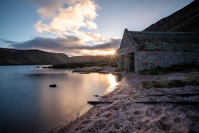Boat House Suntset