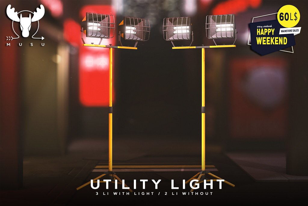 -MUSU- Utility Light @ Happyweekend