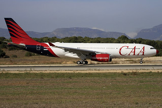 EC-LQO. A-330/200. Compagnie Africaine d'Aviation. PMI.