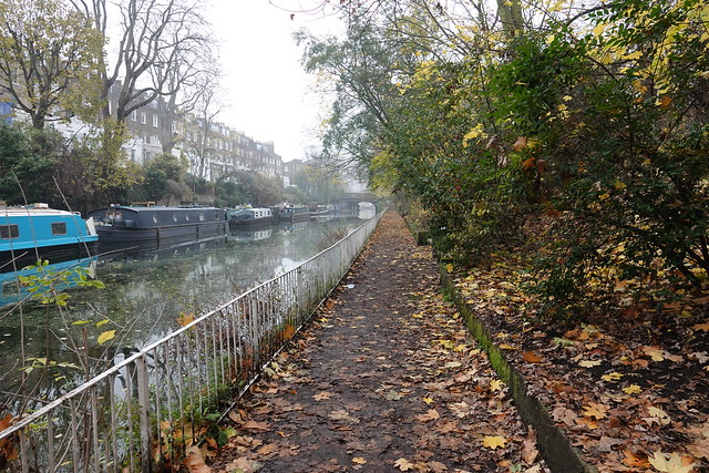Tow path on the Regent's Canal