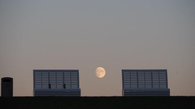Stillleben mit Mond