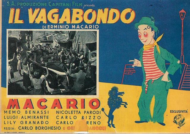 Macario in Il vagabondo (1941)