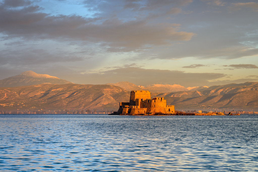 Morning Light on the Castle of Bourtzi