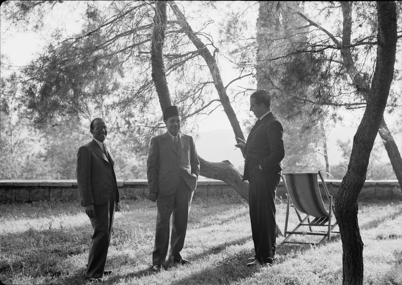 08. Вице-консул Египта, г-н Лабабиди и т. д