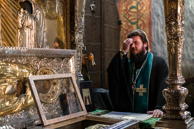 28 ноября 2020, Молебен в Троицком соборе Лавры / 28 November 2020, Prayer service at the Trinity Cathedral of the Lavra