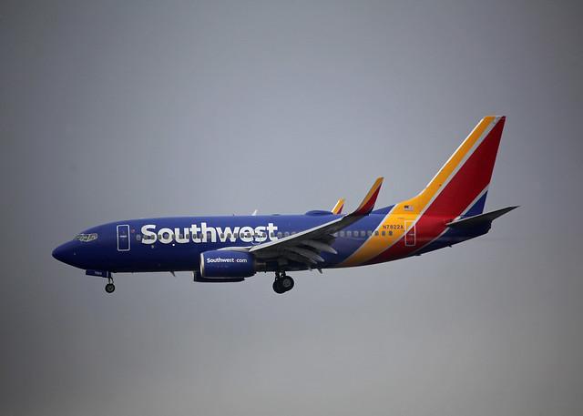N7822A Boeing 737-76N Southwest Airlines