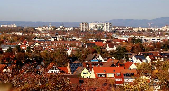 Panorama view IV (St. Georgen, Haslach, Weingarten)