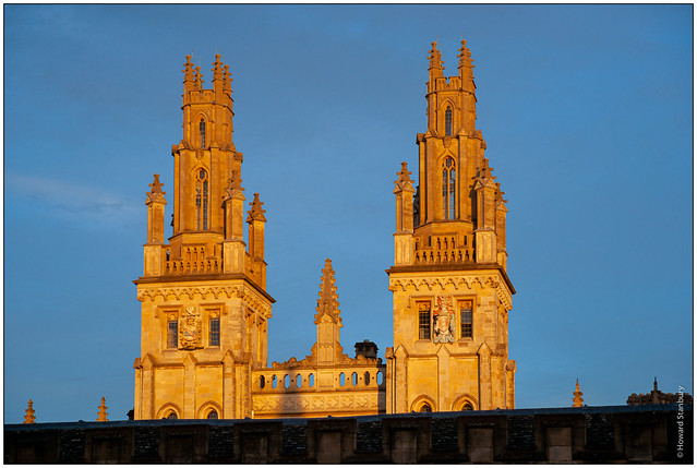 All Souls towers