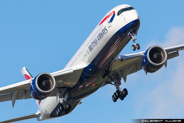 British Airways Airbus A350-1041 cn 446 F-WZHD // G-XWBH