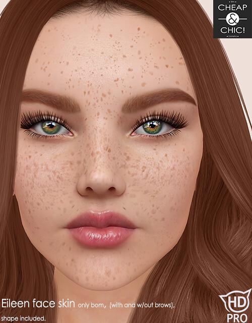 Eileen face skin [Catwa HDPRO]