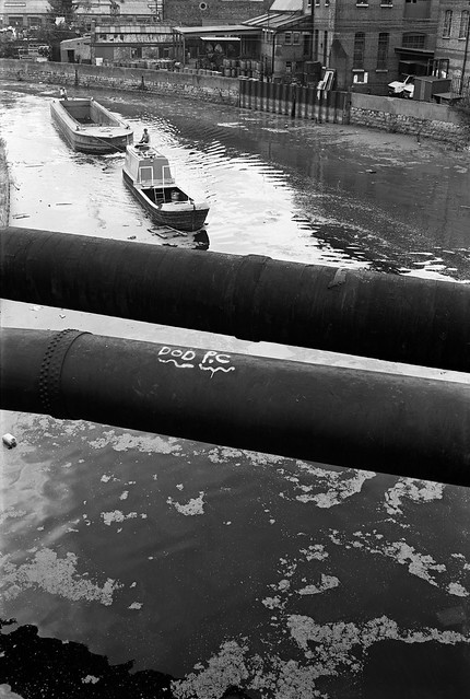 Lea Navigation, Stratford Marsh, Newham, 1983 36o-34_2400