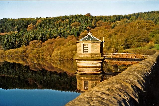 Autumn Shades & Reflections, Fernilee Reservoir, Goyt Valley, Peak District