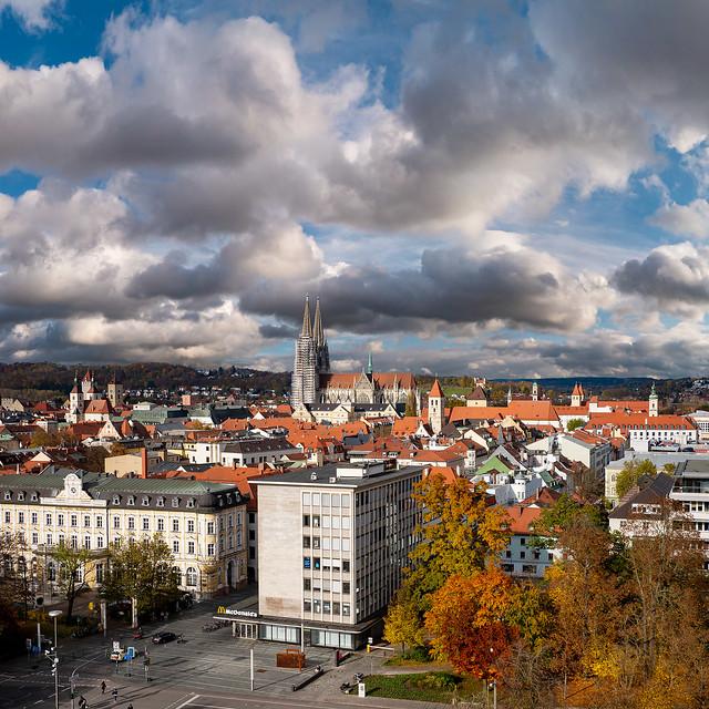 Wild Clouds over Regensburg