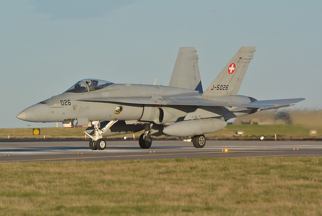 SWISS AIR FORCE F/A18C HORNET