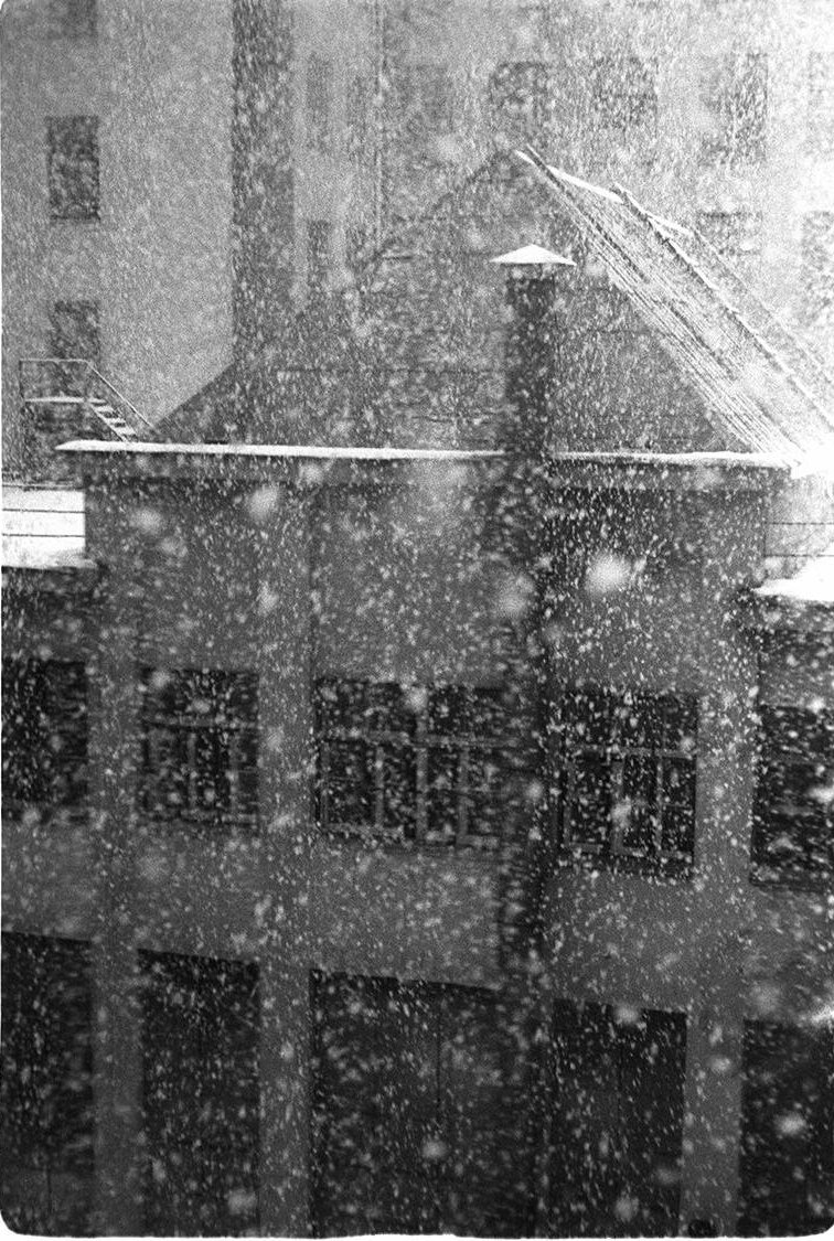 1960-е. Снег идет.