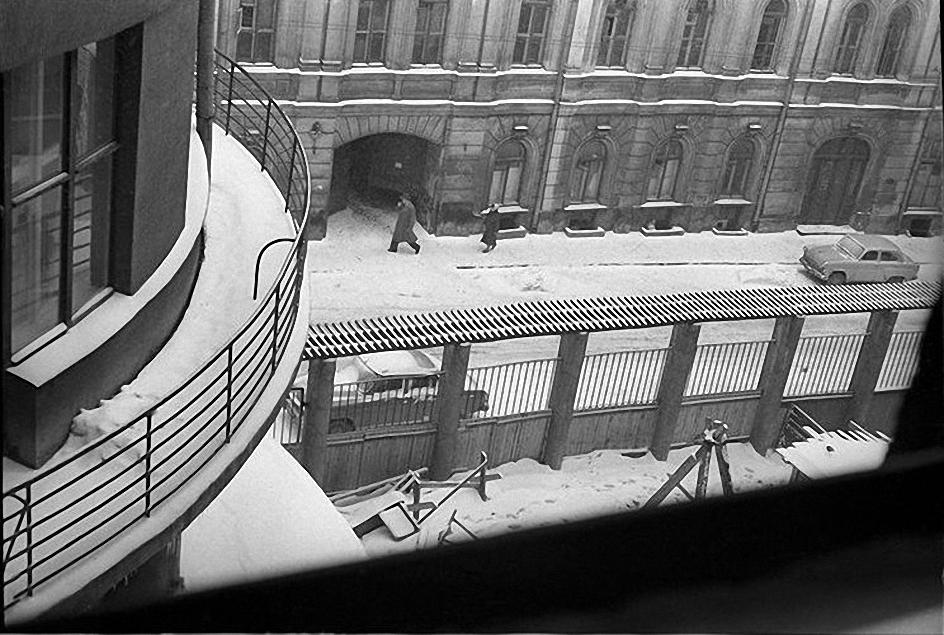 1960-е.  Зима. Малая Лубянка