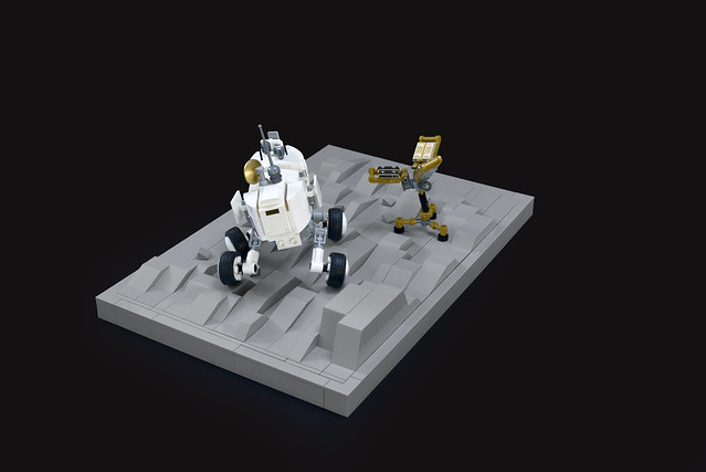 Lego space exploration - atana studio