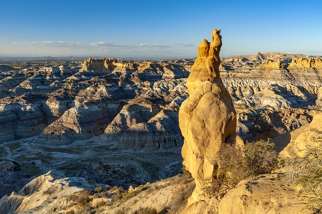 *New Mexico Badlands @ Angel Peak Scenic Area*